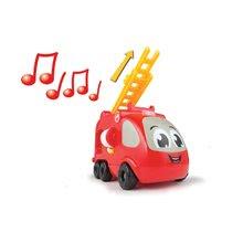 Garáže - Hasičské autíčko Vroom Planet Smoby elektronické so zvukom dĺžka 21 cm od 12 mes_4