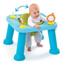 Dětský stolek Cotoons Youp Smoby s hračkami od 5 měsíců modrý