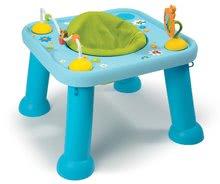 Interaktivní hudební stoly - Stolek Cotoons Youp Smoby s hračkami modrý od 6 měsíců_1