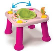 Interaktívne hudobné stoly - Stolík Cotoons Youpi Smoby s hračkami ružový od 6 mes_0