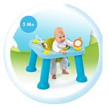 Interaktivní hudební stoly - Stolek Cotoons Youp Smoby s hračkami modrý od 6 měsíců_5