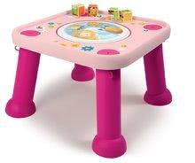 Interaktívne hudobné stoly - Stolík Cotoons Youpi Smoby s hračkami ružový od 6 mes_4