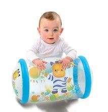 Cilindru bebe gonflabil Cotoons Smoby albastru de la 12 luni