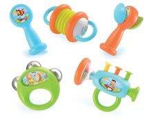 Smoby detské hudobné nástroje Cotoons 5 druhov 211328 farebné