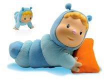 Hračky pre bábätká - Svietiaca bábika Chowing Cotoons Smoby s vankúšikom pre kojencov modrá_0