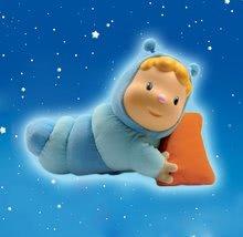 Hračky pre bábätká - Svietiaca bábika Chowing Cotoons Smoby s vankúšikom pre kojencov modrá_1