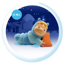 Hračky pre bábätká - Svietiaca bábika Chowing Cotoons Smoby s vankúšikom pre kojencov modrá_6