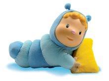 Hračky pre bábätká - Svietiaca bábika Chowing Cotoons Smoby s vankúšikom pre kojencov modrá_2