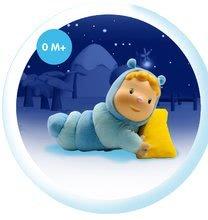 Hračky pre bábätká - Svietiaca bábika Chowing Cotoons Smoby s vankúšikom pre kojencov modrá_3