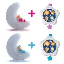 Igrače za dojenčke - Svetleča lunica in zvezdica Cotoons Smoby z zvokom za najmlajše beli_3