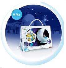 Igrače za dojenčke - Svetleča lunica in zvezdica Cotoons Smoby z zvokom za najmlajše beli_1