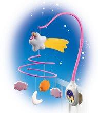 Staré položky - Kolotoč nad postieľku Cotoons Smoby pre kojencov ružový_4