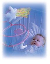 Staré položky - Kolotoč nad postieľku Cotoons Smoby pre kojencov ružový_5