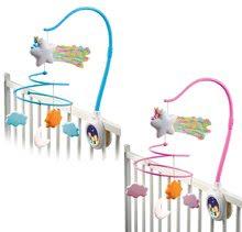 Staré položky - Kolotoč nad postieľku Cotoons Smoby pre kojencov ružový_6