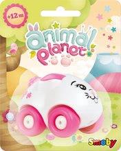 Autíčka - Autíčko - zajačik Mina Animal Planet Smoby 7 cm od 12 mes_0