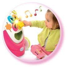Detské chodítka - Chodítko Cotoons Smoby s kockami, svetlom a melódiou ružové od 12 mes_2