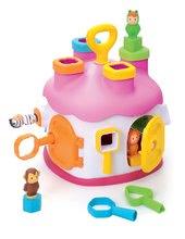 Smoby 211404 Cootons vkladací domček s kľúčmi a figuricami, rožnata, , 23*27*23 cm od 12 mes