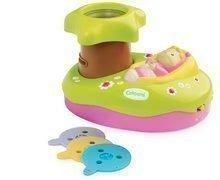 Legkisebbek játékai - Világító projektor kiságyhoz Cotoons Smoby zenével kisbabáknak zöld-kék_7