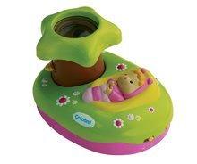 Hračky pre bábätká - Svetelný projektor k postieľke Cotoons Smoby pre kojencov ružovo-zelený_0