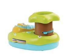 Hračky nad postieľku - Svetelný projektor k postieľke Cotoons Smoby pre kojencov modro-zelený_1