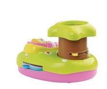 Hračky pre bábätká - Svetelný projektor k postieľke Cotoons Smoby pre kojencov ružovo-zelený_1