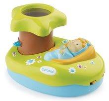 Hračky nad postieľku - Svetelný projektor k postieľke Cotoons Smoby pre kojencov modro-zelený_2