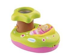 Hračky pre bábätká - Svetelný projektor k postieľke Cotoons Smoby pre kojencov ružovo-zelený_2