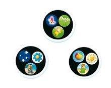 Hračky pre bábätká - Svetelný projektor k postieľke Cotoons Smoby pre kojencov ružovo-zelený_4