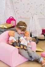 Domčeky pre bábiky sety - Set opatrovateľské centrum pre bábiku Baby Nurse Smoby a bábika so šatôčkami 32 cm_15