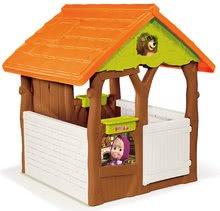 Domčeky so šmykľavkou - Set domček Máša a medveď Smoby s kvetináčom a šmykľavka Toboggan Funny vlnkovitá s dĺžkou 2 m od 24 mes_10