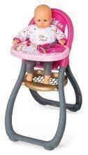 Kolica za lutke setovi - Set kolica za lutku Smoby sportska (58 cm ručka), hranilica, kolijevka i lutka s odjećom od 18 mjeseci_9