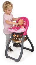 Kolica za lutke setovi - Set kolica za lutku Smoby sportska (58 cm ručka), hranilica, kolijevka i lutka s odjećom od 18 mjeseci_3