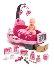 Centru de îngrijire pentru păpuşă Baby Nurse Smoby cu păpuşă de jucărie de 32 cm