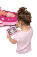 Hry na domácnost - Set úklidový vozík s elektronickým vysavačem Clean Smoby a pečovatelské centrum s panenkou_7