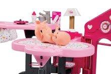 Domčeky pre bábiky sety - Set opatrovateľské centrum pre bábiku Baby Nurse Smoby a hlboký kočík Máša a medveď (58 cm rúčka) od 3 rokov_1