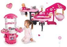 Domčeky pre bábiky sety - Set opatrovateľské centrum pre bábiku Baby Nurse Smoby a kuchynka Princezné Ma Premier od 3 rokov_17