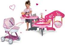 Domčeky pre bábiky sety - Set opatrovateľské centrum pre bábiku Baby Nurse Smoby a hlboký kočík Máša a medveď (58 cm rúčka) od 3 rokov_15