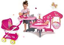 Domčeky pre bábiky sety - Set opatrovateľské centrum pre bábiku Baby Nurse Smoby a hlboký kočík Máša a medveď (58 cm rúčka) od 3 rokov_14