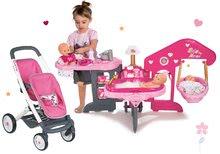 Set opatrovateľské centrum pre bábiku Baby Nurse Smoby a kočík pre dve bábiky Maxi Cosi & Quinny Twin (65,5 cm rúčka)