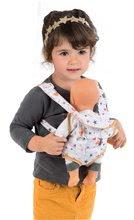 Kolica za lutke setovi - Set duboka kolica za lutku od 42 cm Princeze Disney Smoby i klokanica te bočica s mlijekom Baby Nurse_3