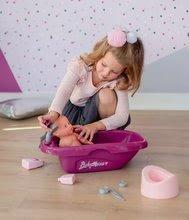 Doplnky pre bábiky - Vanička s nočníkom Violette Baby Nurse Smoby pre 42 cm bábiku s 8 doplnkami_1