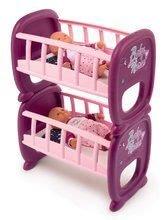 Poschodová posteľ Violette Baby Nurse Smoby pre dvojičky bábiky od 24 mes