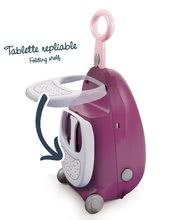Kuchynky pre deti sety - Set kuchynka Tefal Studio BBQ Bublinky Smoby s magickým bublaním a prebaľovací vozík Baby Nurse_11