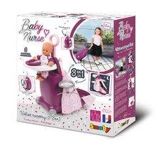 Kuchynky pre deti sety - Set kuchynka Tefal Studio BBQ Bublinky Smoby s magickým bublaním a prebaľovací vozík Baby Nurse_21