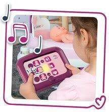 Hry na domácnost - Set úklidový vozík s elektronickým vysavačem Clean Smoby a pečovatelské centrum s panenkou_19