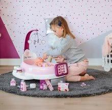 Hry na domácnost - Set úklidový vozík s elektronickým vysavačem Clean Smoby a pečovatelské centrum s panenkou_21