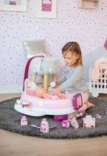Hry na domácnost - Set úklidový vozík s elektronickým vysavačem Clean Smoby a pečovatelské centrum s panenkou_22