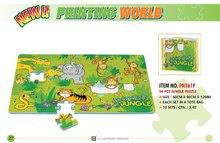 Pěnové puzzle - Pěnové puzzle Jungle Lee 54 dílů 60*90*1,2 cm_0