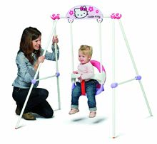 Dětské houpačky - Houpačka Hello Kitty Portique Baby Smoby kovová od 6 měsíců_3