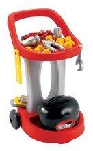 ECOIFFIER 2302 Mecanique pracovny vozík na kolieskach + 18 doplnkov 31*36*48 cm